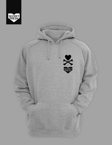 Tiger Dunk Gray Hoodie