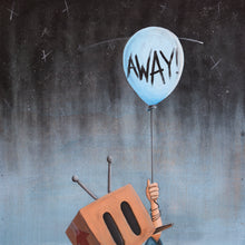 "Load image into Gallery viewer, ""Away"" Poster Print"