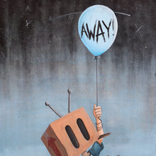 "Load image into Gallery viewer, ""Away"" Giclée"