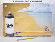 "Load image into Gallery viewer, ""Create"" Giclée"