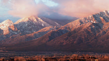"Load image into Gallery viewer, ""From Taos With Love"" Panoramic Photograph"