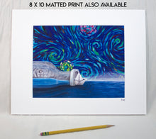 "Load image into Gallery viewer, ""Pursuit"" Canvas Print"