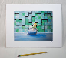 "Load image into Gallery viewer, ""Safe Travels"" Matted Print"
