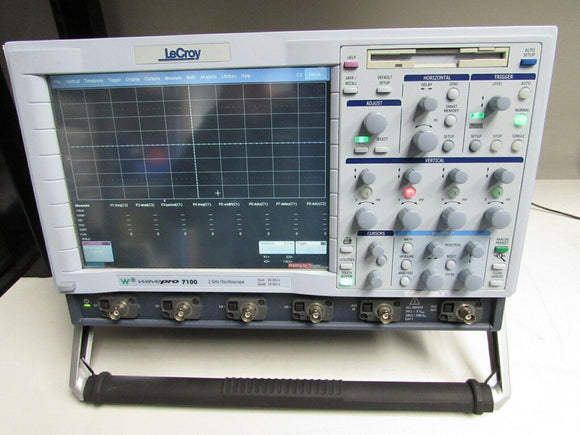 LeCroy WavePro 7100 Oscilloscope, 1GHz DUAL 20GS/s 4Channel, Opt M