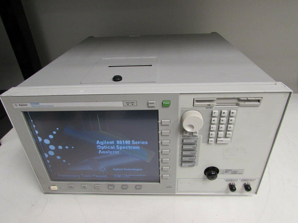 Agilent 86146B Optical Spectrum Analyzer, 600nm to 1700nm, Option: none