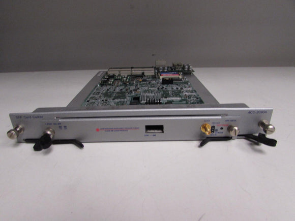 Spirent XFP-1001A 10GbE TESTCENTER Module w/ ACC-2090A SFF Carrier