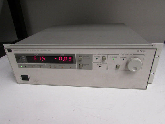 Agilent 6032A System Autoranging DC Power Supply, 60V, 50A, 1000W