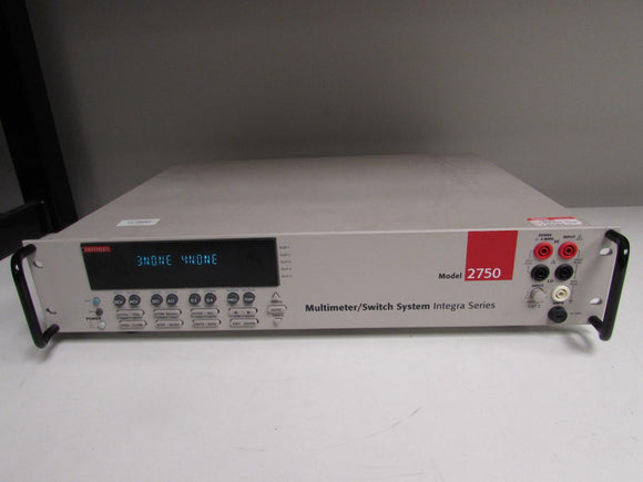 Keithley 2750 Data Acquisition System/ DMM