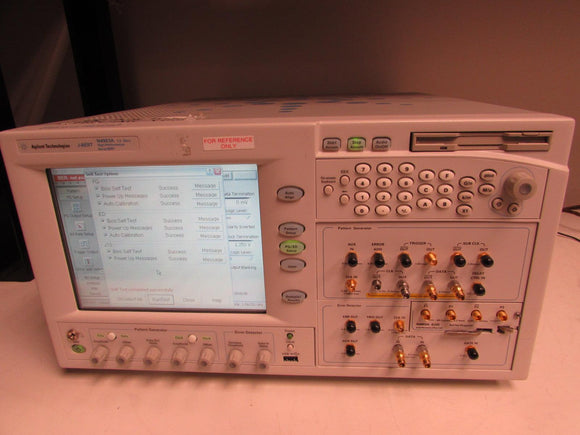 Agilent N4903A Error Performance Analyzer Serial J-BERT,150 Mb/s-7.0 Gb/s, Opt C07, CTR, J10, J11, J