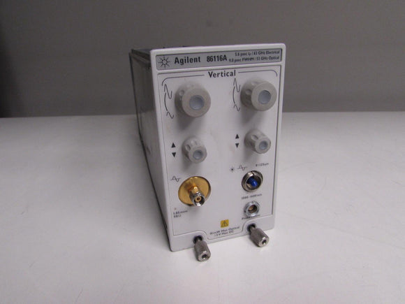 Agilent 86116A 53 GHz optical / 63 GHz electrical module, no option