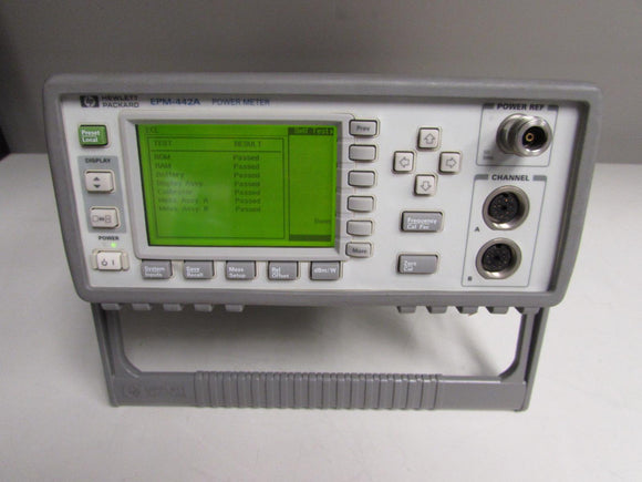 Agilent HP EPM-442A Power Meter, dual channel