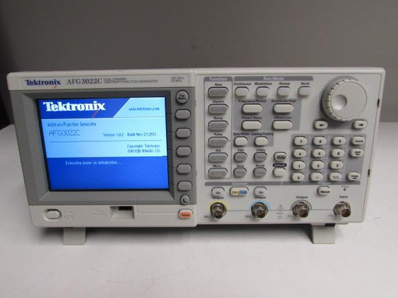 Tektronix AFG3022C Arbitrary / Function Generator 250MS/s 25MHz / Dual Channel