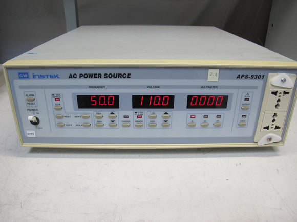 GW Instek APS-9301 AC Power Source, APS-9301