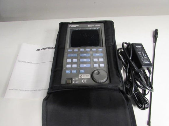 BK Precision 2650 Handheld 3.3GHz Spectrum Analyzer