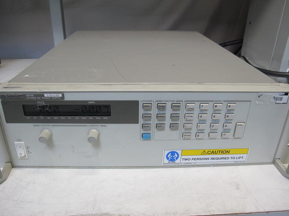 Agilent HP 6674A System DC Power Supply, 50V, 42A, opt. J07, #2