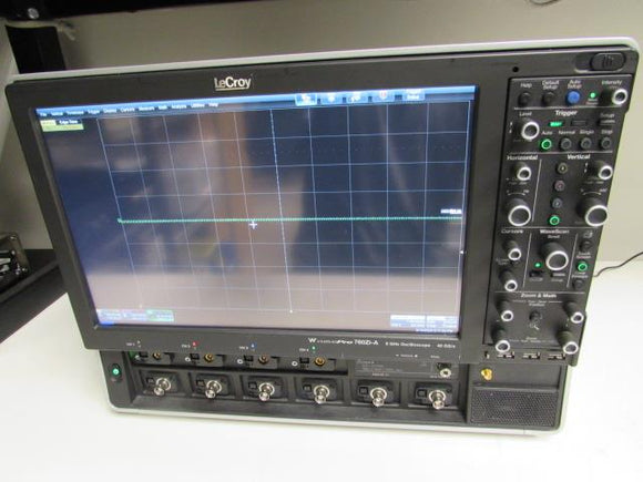 Teledyne LeCroy 760Zi -A 6 GHz Bandwidth, 4 Channels, 40 GS/s, 4 LPA-SMA-A adapt