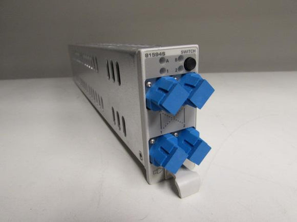 Agilent 81594s 2x2 Optical Switch Module, straight connectivity for 8163A, 8163B