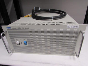 NHR Research 4600 AC Electronic Load, 0-30A, 50-350V, 3kW