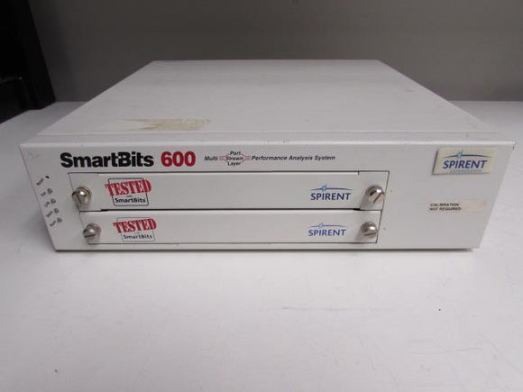 Spirent Smartbits SMB-600 Network Test Mainframe, SMB600, 2 slot