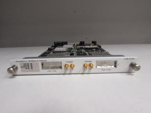 Spirent SmartBits LAN-3310A 2-port GBIC SmartMetrics Module