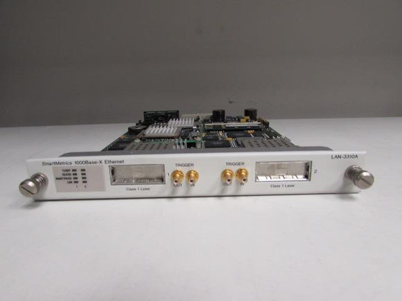Spirent Smartbits LAN-3311A SmartBits TeraMetrics 1000Base-X Ethernet Module