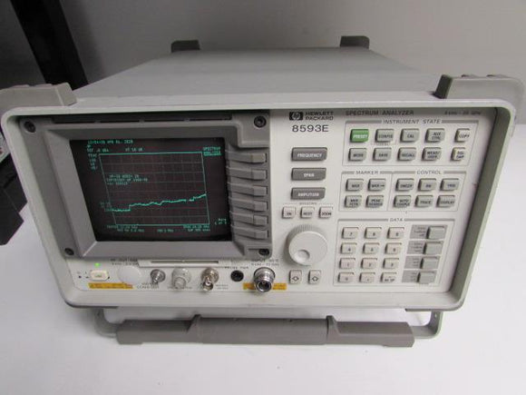 Agilent 8593E Spectrum Analyzer, 9 KHz - 22 GHz, Opt 041