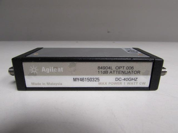 Agilent 84904L Programmable Step Attenuator, DC to 40 GHz, 0 to 11 dB
