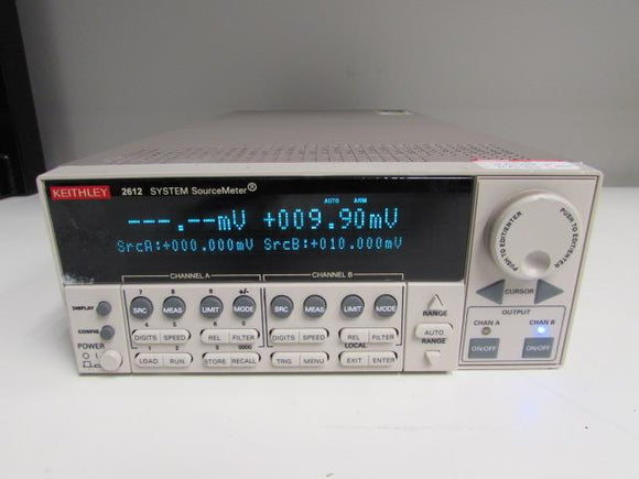 Keithley 2612 System Sourcemeter, 2 Channels, 200V 10A