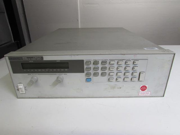 Agilent HP 6675A System DC Power Supply, 50V, 42A, opt. J08