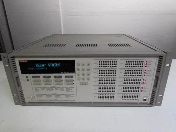 Keithley 7002 Switch System Mainframe, no module