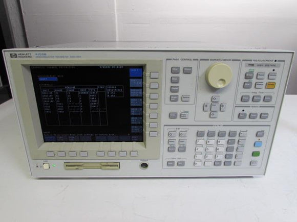 Agilent HP 4155B Semiconductor Parameter Analyzer