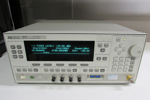 Agilent 83640A 10 MHz to 40 GHz Synthesized Sweeper w/ Opt. 008