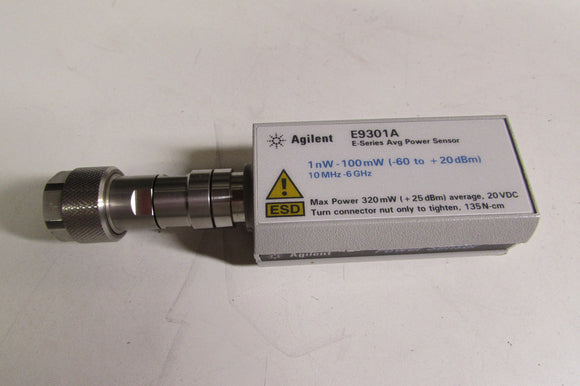 Agilent E9301A Average Power Sensor, 10 MHz to 6 GHz,-60 to +20 dBm