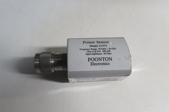 Boonton 51072 Power Sensor, 40GHz
