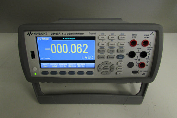 Keysight 34460A Digital Multimeter, 6 ½ Digit, Basic Truevolt
