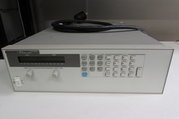 Agilent 6671A 2000W System DC Power Supply 0-8V 0-220A Out 220-240V Input