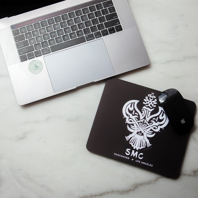 Mousepad with Iconic Phoenix Design