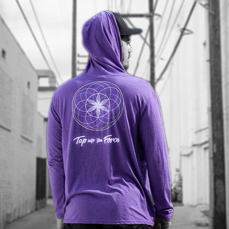 Ultra Soft Sufi Meditation Pullover Hoodie (Pink).