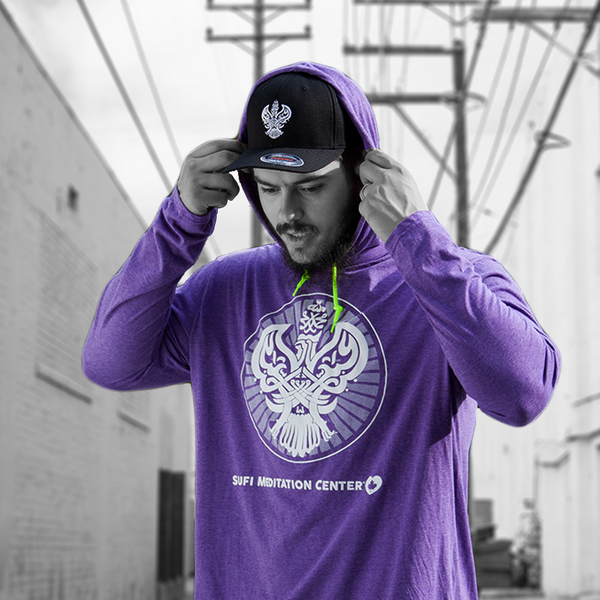 SMC Hooded Pullover, Purple