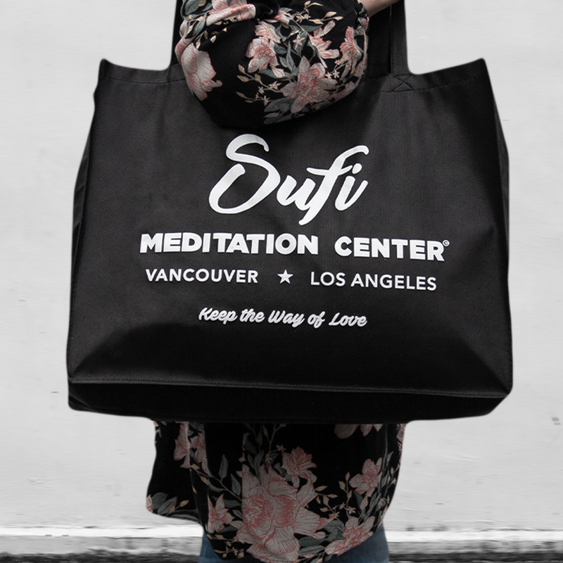 Sufi Meditation Tote Bag with Iconic Phoenix Design