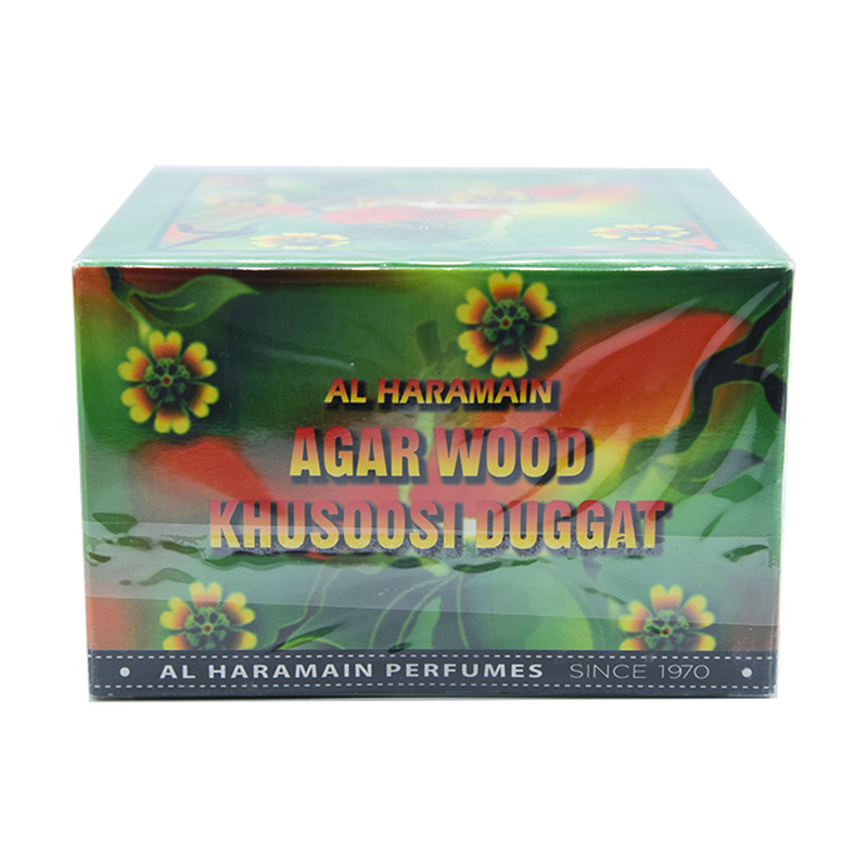 Incense Al-Haramain Agarwood Khusoosi Duggat Bukhoor Arabic Incense