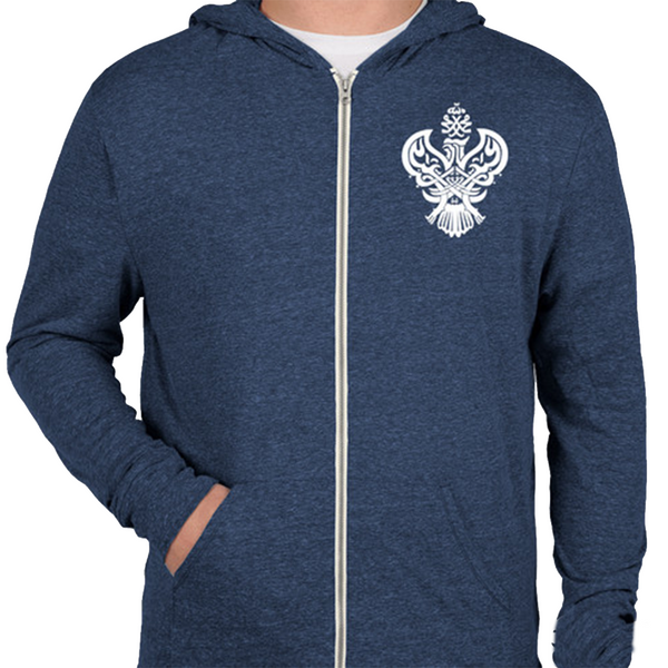 Ultra Soft Sufi Meditation Hoodie (Heather Blue)