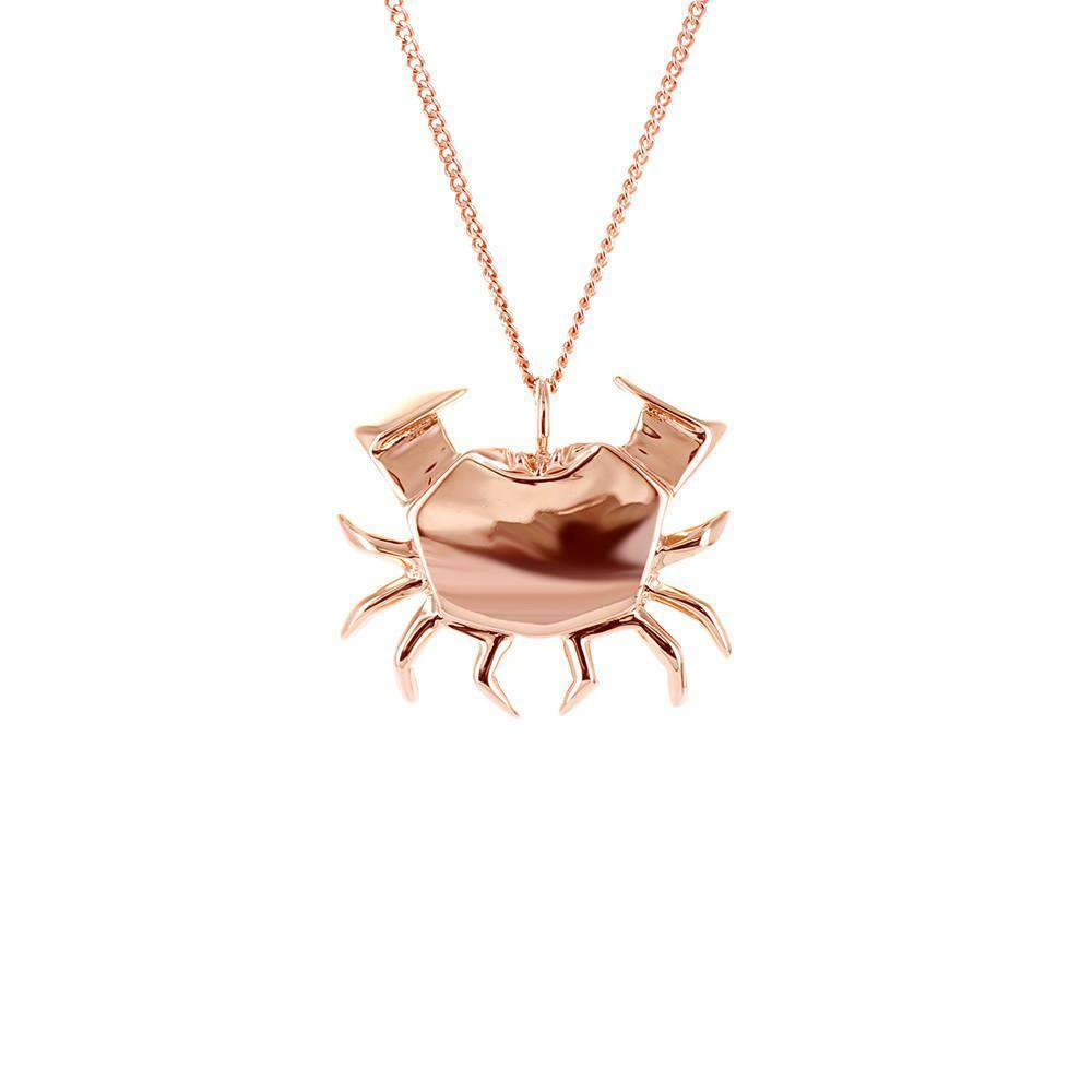 Crab Necklace - Origami Jewellery - THE POMMIER - 2
