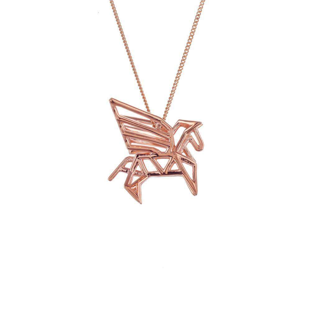 Frame Pegasus Necklace
