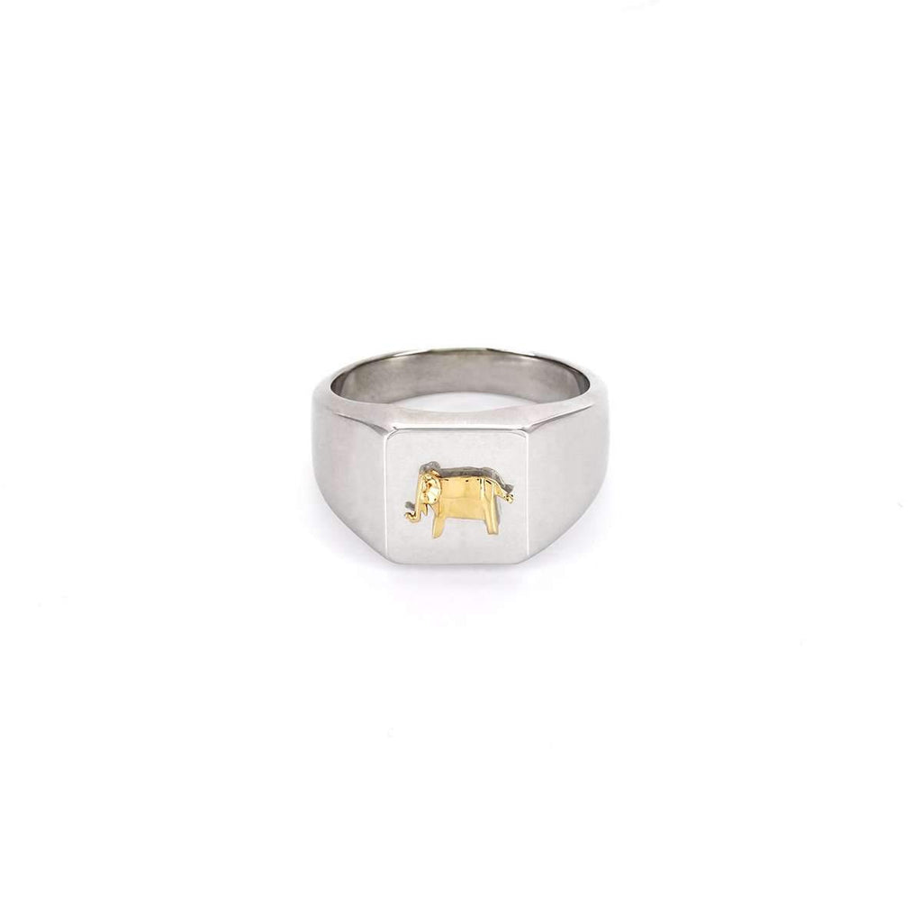 The Elephant Signet Ring