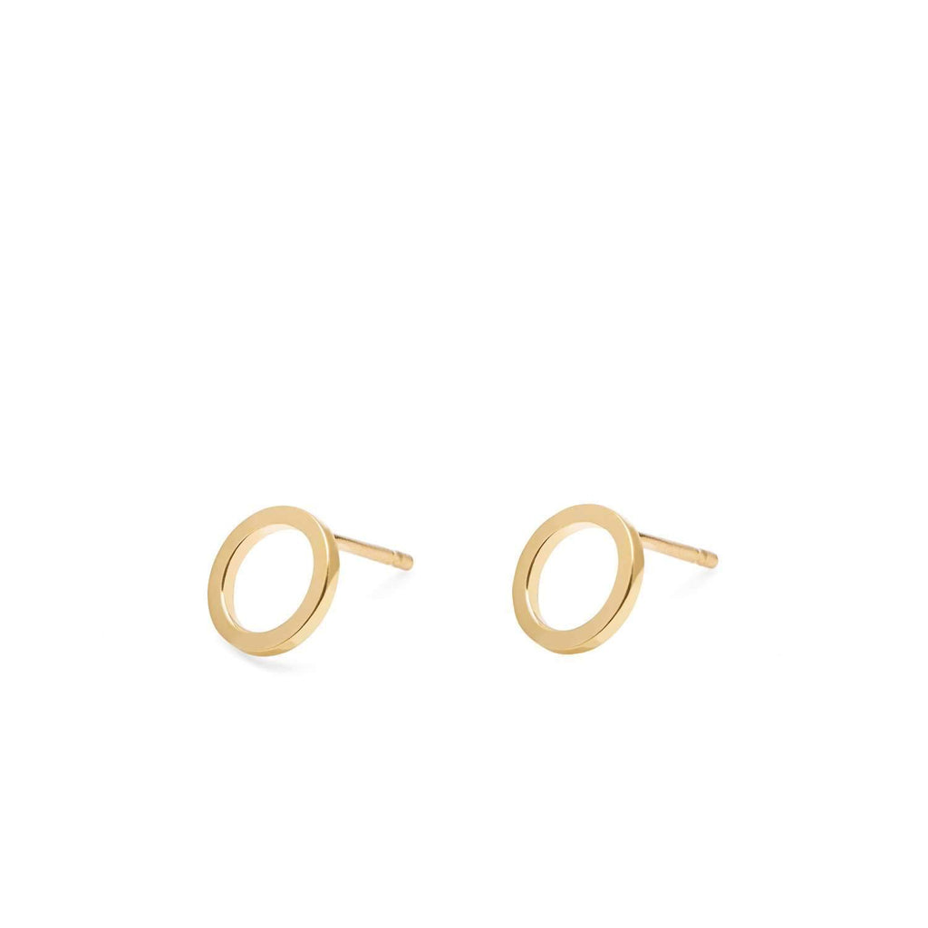Mini Circle Earrings