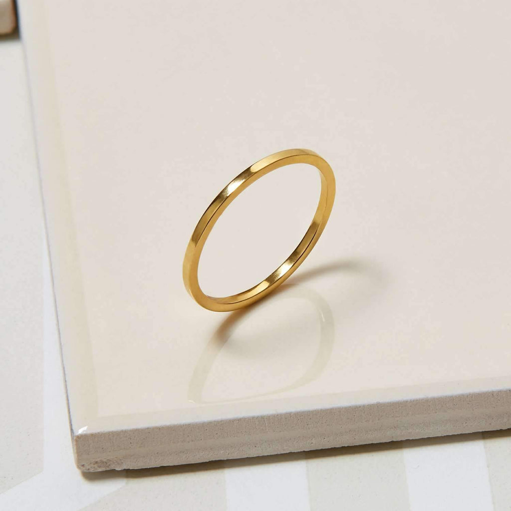 Skinny Square Stacking Ring