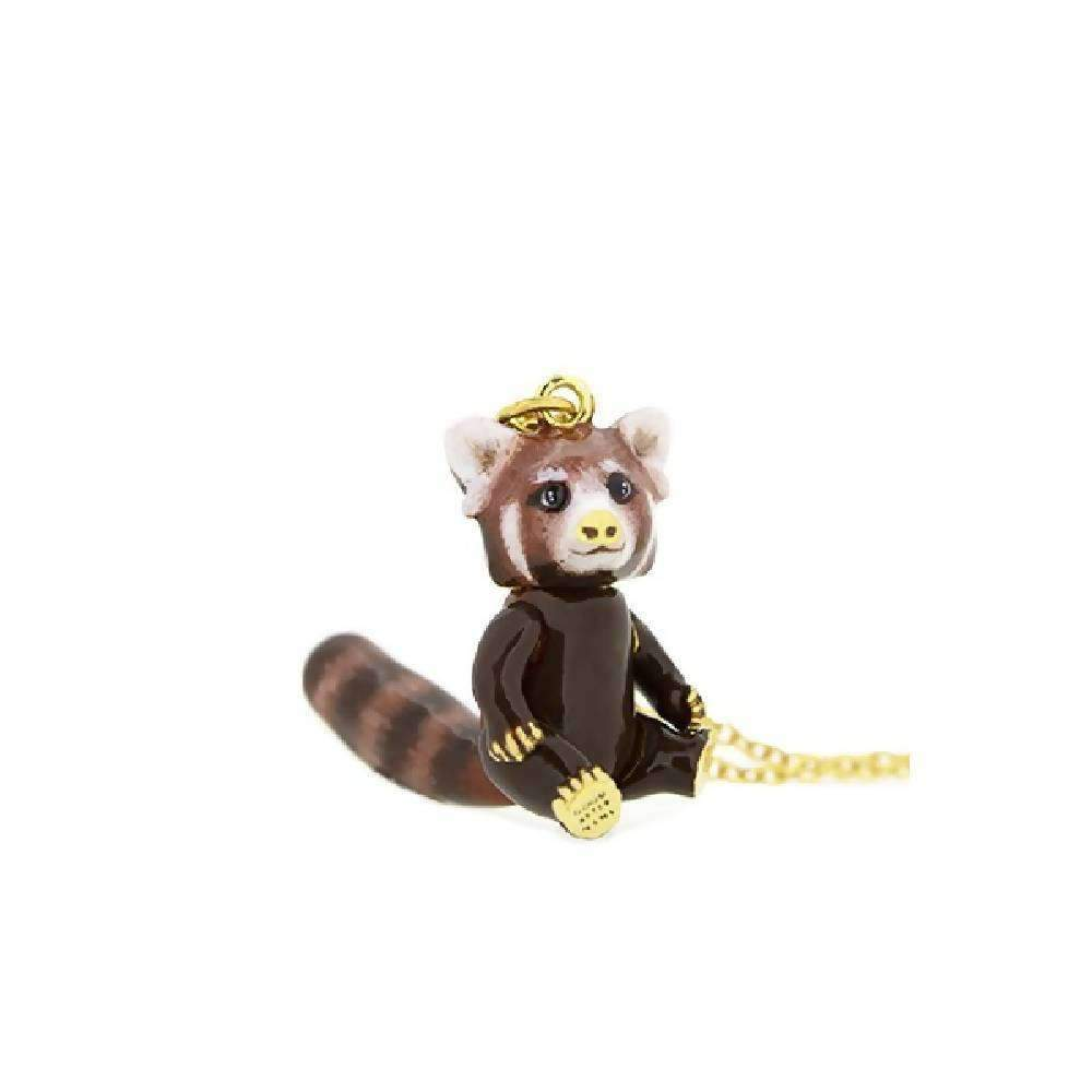 Raph Red Panda Necklace