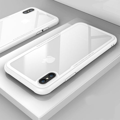Tempered Glass Phone Case for iPhone 6/7/8/X/XS/XR - Chestter.co
