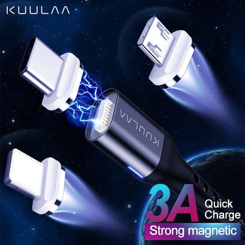Magnetic USB Cable USB Quick Charge